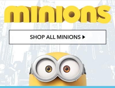 shop all minions
