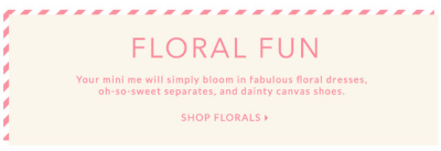 girls floral clothing