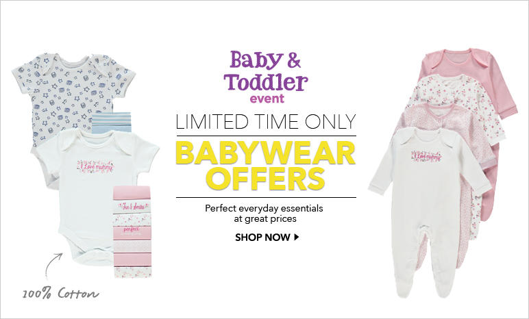 Baby Clothes - Girls and Boys Baby Clothing | George at ASDA