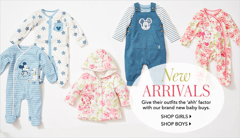 Baby Clothes And Nursery Accessories George At Asda