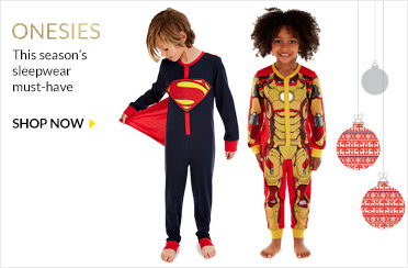 boys nightwear and onesies