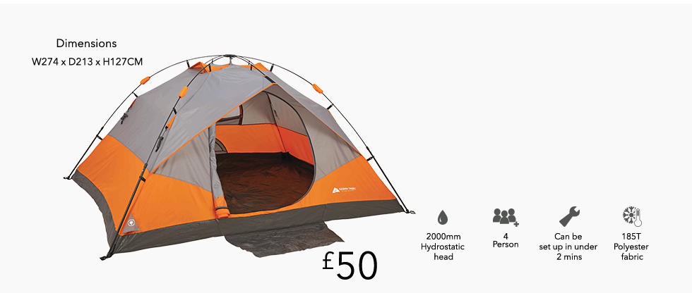 See what you can find for your next trip camping at George.com