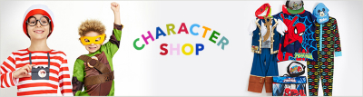 Boys character shop