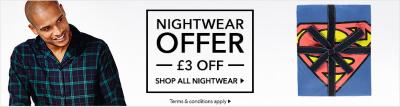 mens nightwear