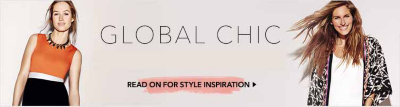 Shop the global chic fashion trend for women from George.com