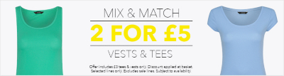 Mix and match offer