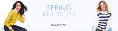 Take your wardrobe into the next season with our spring knitwear at George.com