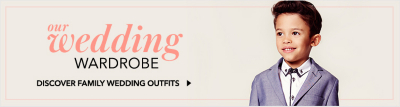 Discover fabulous occasionwear for all the family with George.com's guide to wedding style