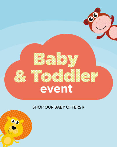 Shop a range of big brands at the George.com baby event