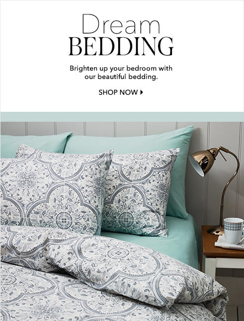 Shop bedding and brand new bedding styles for 2016 at George.com