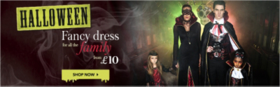Shop Halloween fancy dress and costumes for all the family now at George.com
