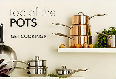Get busy in the kitchen with our range of pots and pans at George.com