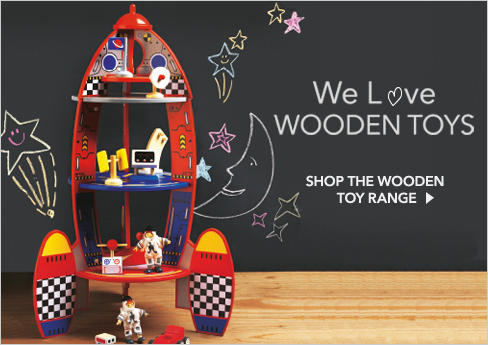 Shop incredible children's wooden toys at George.com