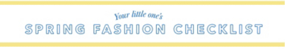 spring fashion checklist
