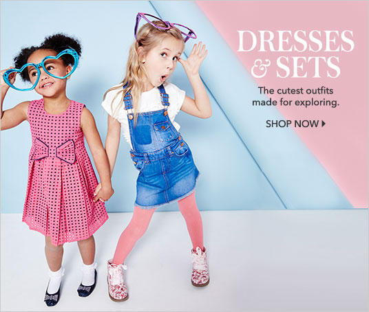 Discover kids' dresses and casual dresses now from George at Asda