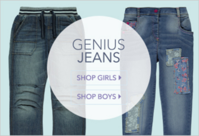 Buy girls' and boys' jeans at George.com