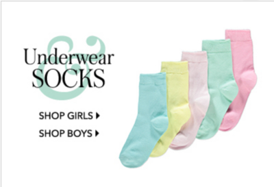 Shop girls' and boys' underwear at George.com