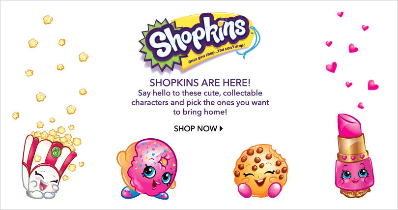 Discover the range of Shopkins toys at George.com
