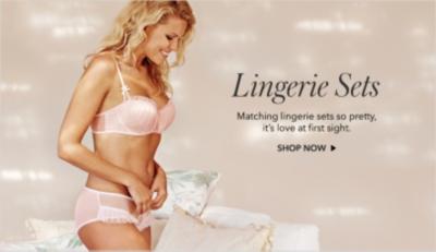 Discover lovely lingerie sets at George.com