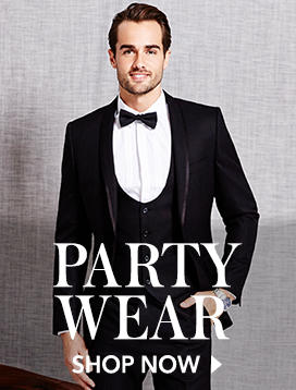 Shop immaculate party wear for men now at George.com