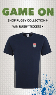 Shop rugby clothing and rugby merchandise at George.com