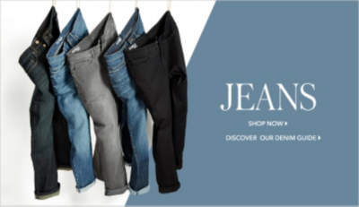 Finds men's jeans, from skinny to tapered, now at George.com