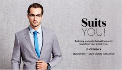 Explore our suit ranges now at George,com