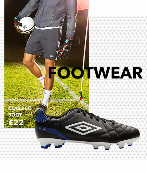 Find the perfect shoe for you with Umbro footwear at George.com