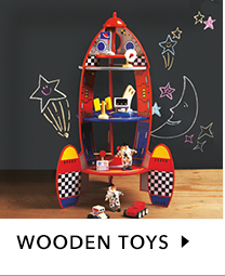 At George.com we've got a great own range of quality wooden toys, including everything from dolls' houses and tea sets to pirate ships and building blocks.