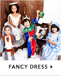 Pick from a fab range of fancy dress outfits at George.com