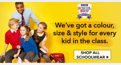 Get free next day delivery on our schoolwear when you spend £25 or more, exclusively at George.com