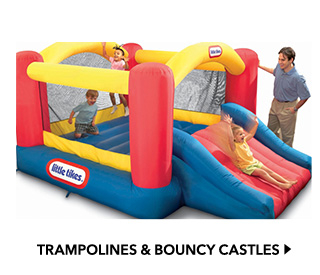 trampolines and bouncy castles