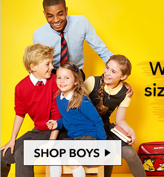Shop boys' school uniforms and boys' school essentials, including polo shirts, shorts and PE kit at amazing quality only from George.com