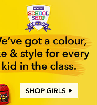 Discover and stock up on girls' school uniforms, including school essentials and polo shirts, from George at Asda