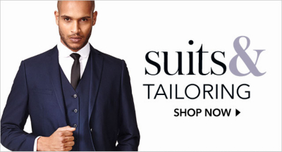 Smarten up with George at Asda men's suiting.