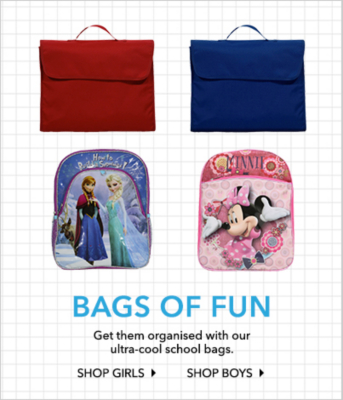 Shop school bags now at George.com