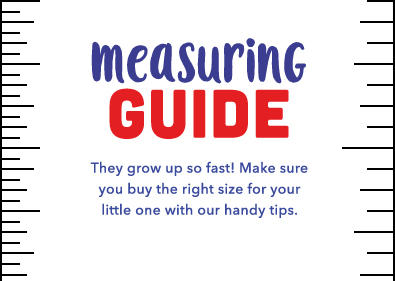 Find their perfect fit with our school measuring guide at George.com