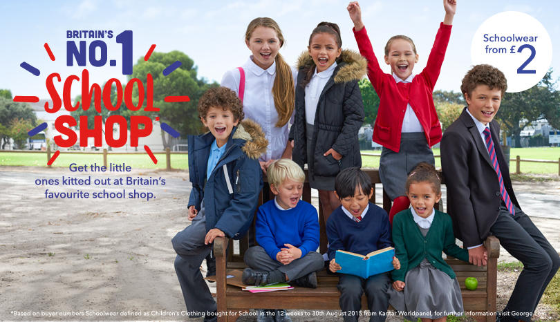 Shop our range of schoolwear at George.com