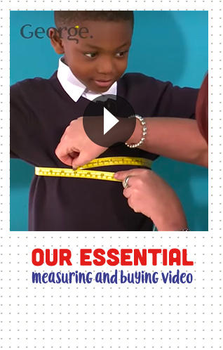 Watch our school measuring and buying video at George.com
