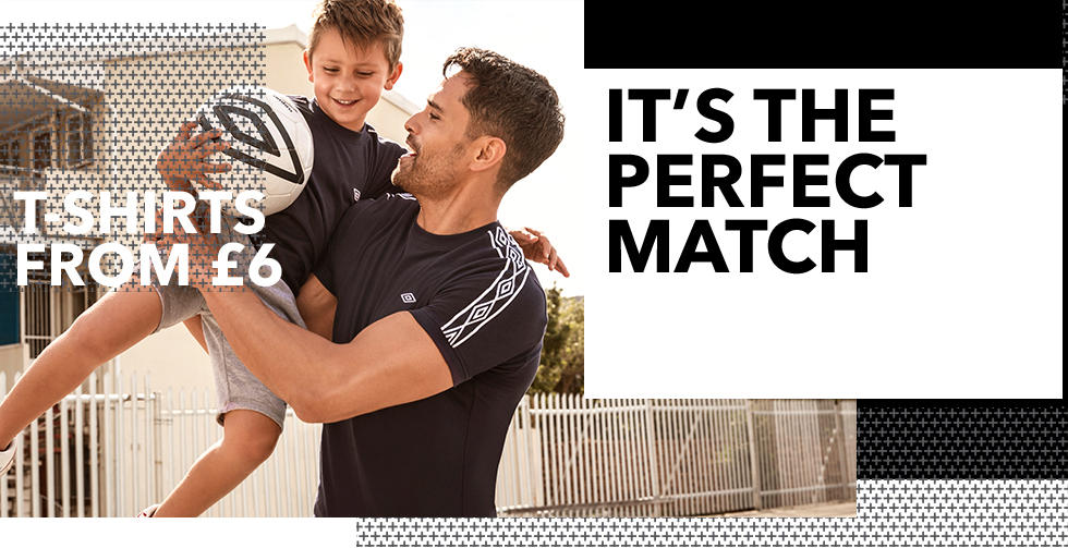 Shop men's and boys' Umbro collection at George.com