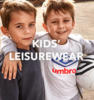 Keep them active with Umbro leisurewear for kids at George.com