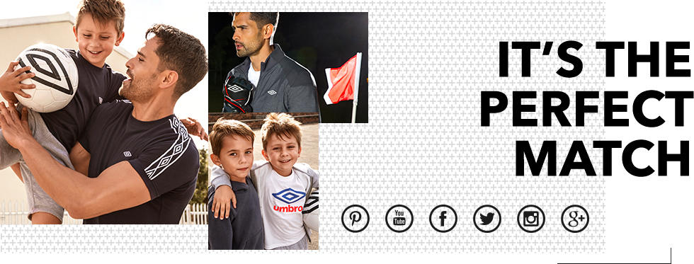 Get the whole family kitted out with our Umbro range at George.com