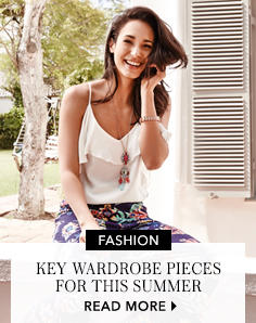 Discover those key summer pieces you won't be able to live without at George.com