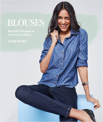 Shop women's blouses and formal shirts for women now at George.com