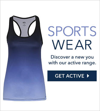 Get gym ready with our new range of sportswear