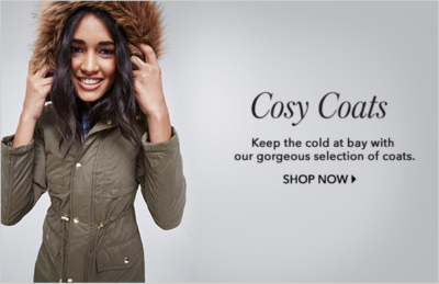 Discover coats and women's coats to shop now at George.com