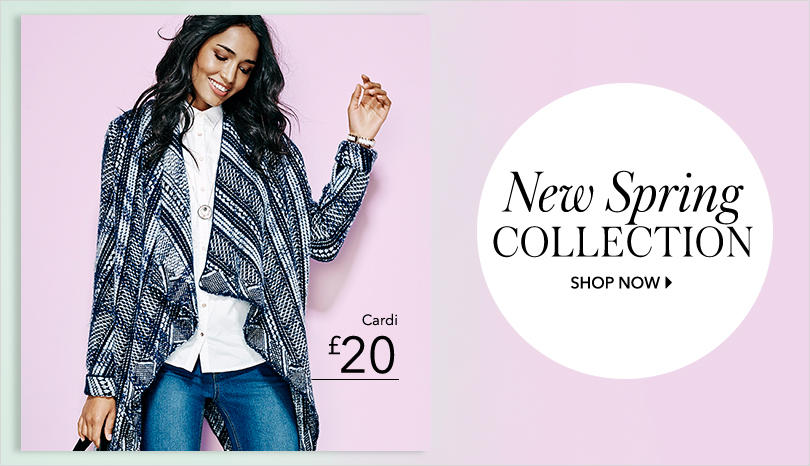 Shop the new spring collection at George.com