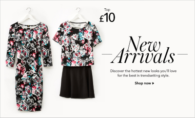 womens new in