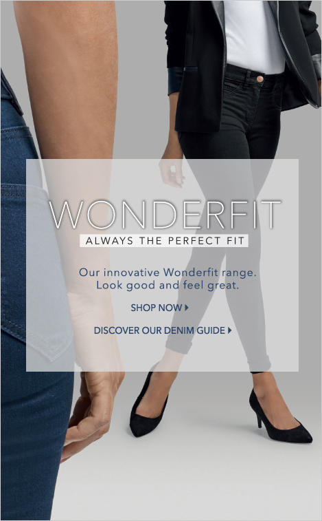 Discover women's George Wonderfit jeans from George.com