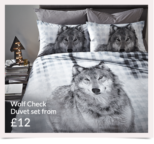 Pick from a range of beautiful animal inspired bedding at George at Asda